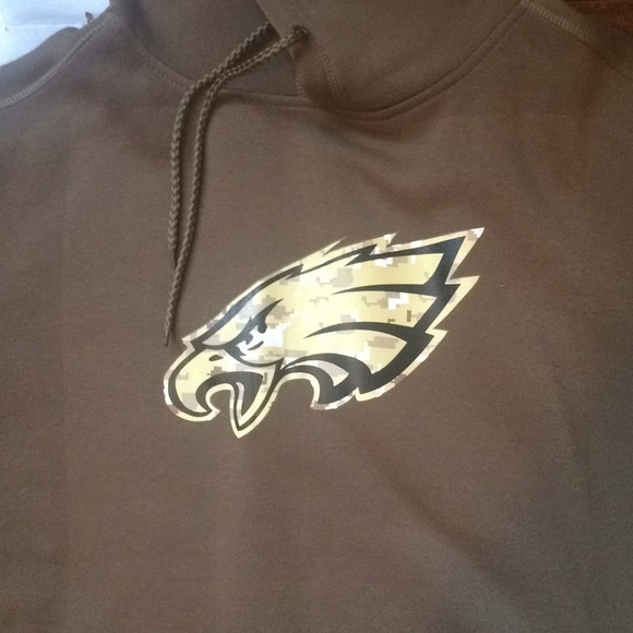 the latest 4eaaa 76285 Philadelphia Eagles Salute to Service Hoodie NWT